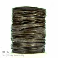 Leather Cord Dark tan 1