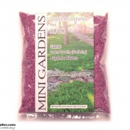 Artificial Ground Cover Flowers Purple Coarse 250g