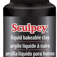 Black Liquid Sculpey