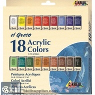 EG AcrylicColor Set18