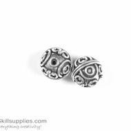 German Silver Bead 27