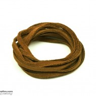 LeatherCord Suede Brown
