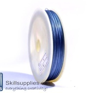 Tiger tail 0.45mm navy blue,5 mts
