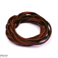 LeatherCord Suede RedBrown