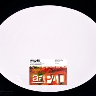 Stretched Canvas Oval 12X16