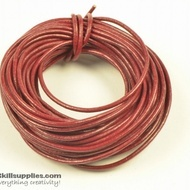 LeatherCord Burgundy1