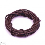 LeatherCord DarkBrown2