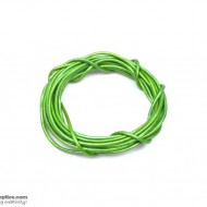 LeatherCord MayGreen Metallic
