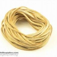 LeatherCord Suede Beige