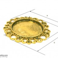 Pendant Tray29 Gold