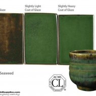 Pottery High Fire Glaze PC-42 Seaweed