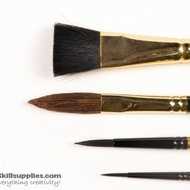 Silkpainting Brush Set1