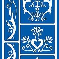 Textile stencil 4