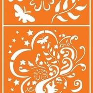 Textile stencil 9