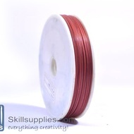 Tiger tail 0.45mm red,5 mts