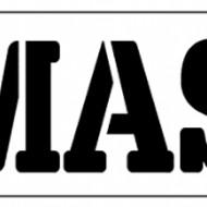 Words Stencil - Namaste