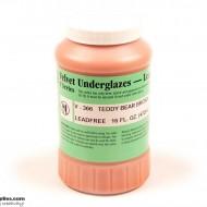 Pottery Underglaze V-366 Teddy Bear Brown