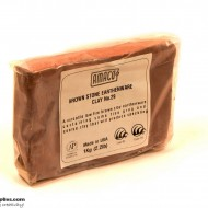 Pottery Clay Ceramic Low-fire Brown Stone Earthenware No.29 (1kg)
