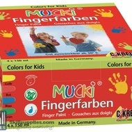 Fingerpaint Set of 4X150ml