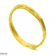 Jewellery Wire Gold, Gauge No.24