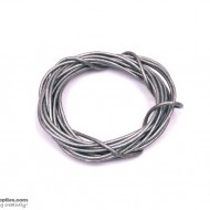 LeatherCord DarkGreyMetallic3