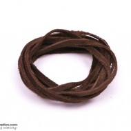 LeatherCord Suede Coffee