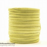 LeatherCord Suede MayGreen