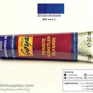 OilColour Dark UltramarineBlue