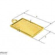 Pendant Tray35 Gold