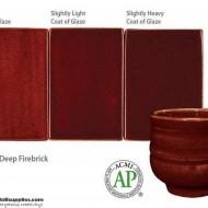 Pottery High Fire Glaze PC-59 Deep Firebrick