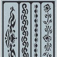Tattoo Stencil Ribbons