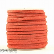 LeatherCord Suede Red