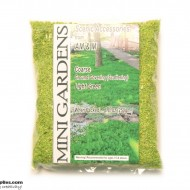 Artificial Ground Cover Grass Light Green Coarse 250g