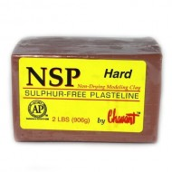 Chavant Oil Based Sculpture Clay - NSP HARD Brown