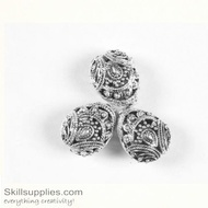 German Silver Bead 33