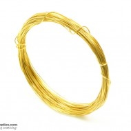Jewellery Wire Gold, Gauge No.22