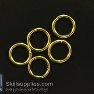 Jump rings 10mm  EN1 ,20 gms   gold
