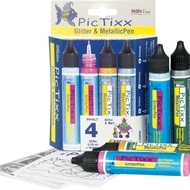 PicTixx Met.&Gli. pen 4 pc Set