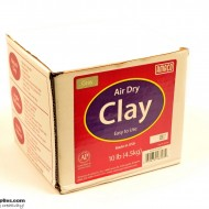 Pottery Clay Air-Dry Gray 4.5kg