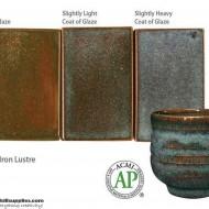 Pottery High Fire Glaze PC-33 Iron Lustre