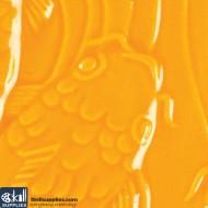 Pottery Low Fire Glaze LG-68 Vivid Orange