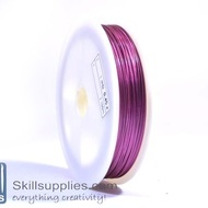 Tiger tail 0.45mm fuschia,5 mts