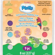 PolymerClay Kids Pluffy Multipack Tropical
