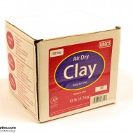 Pottery Clay Air-Dry White 4.5kg