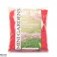 Artificial Ground Cover Flowers Red Coarse 250g