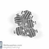 German Silver Bead 32