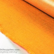 Jute Cloth Sunset Orange - 4 Sq ft