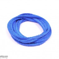 LeatherCord Suede AzureBlue