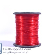 Nylon cord 0.3mm red, 100 mts