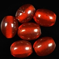 Oval glass beads albester 1